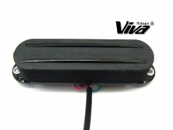 VIVA® SB 101/2 BK Twin Blade Humbucker im Single Coil Format