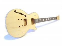 E-Gitarren-Bausatz MLP Flat Top, Mahagoni Hollowbody