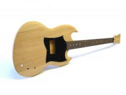 E-Gitarren-Bausatz/Guitar Kit MSG SP Custom Mahagoni