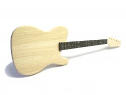 E-Gitarren-Bausatz Style II ohne Fräsungen Esche/Blackwood ohne Hardw.