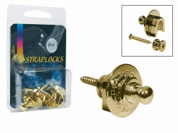 Security Locks / Gurtpins Boston in gold