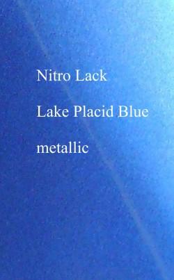 Nitrocellulose Lack Spray / Aerosol lake placid blue metallic 500ml