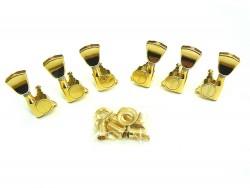 Gitarren-Mechaniken Spear 3li/3re Tulip in gold