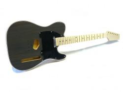E-Gitarren-Bausatz/Guitar Kit MLT Blackwood Top A, Abalone Binding