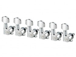 Schaller M6 Mini Mechaniken 6 links chrom