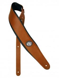 Gitarrengurt Gaucho GST-600-BR Leder extra breit und top gepolstert