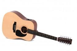 12-saitige Western-Gitarre Sigma DM12 E