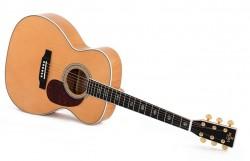 Western-Gitarre Sigma OMA-40E-AN, mit Tonabnehmer und EQ