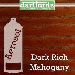 Nitrocellulose Lack Spray / Aerosol transparent Dark Rich Mahogany 400ml
