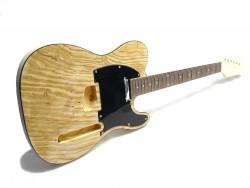 E-Gitarren-Bausatz/Guitar Kit Style II Swamp Ash Top 2.Wahl