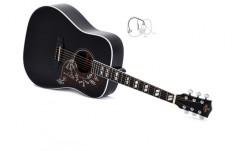 Western-Gitarre Sigma DM SG5 BK+ limited Edition mit Pickup