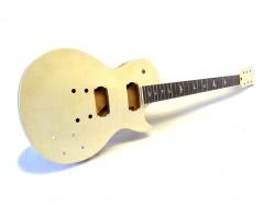 E-Gitarren-Bausatz/Guitar Kit MLP Hybrid III mit Bird Inlays