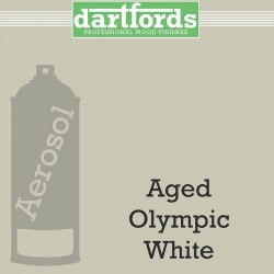Nitrocellulose Lack Spray / Aerosol Aged Olympic White 400ml