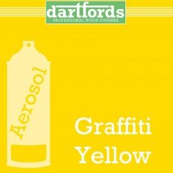 Nitrocellulose Lack Spray / Aerosol Graffiti Yellow  400ml