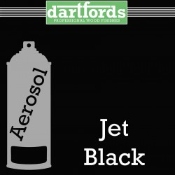 Nitrocellulose Lack Spray / Aerosol Jet Black 400ml