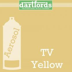Nitrocellulose Lack Spray / Aerosol TV Yellow 400ml
