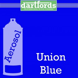 Nitrocellulose Lack Spray / Aerosol Union Blue 400ml