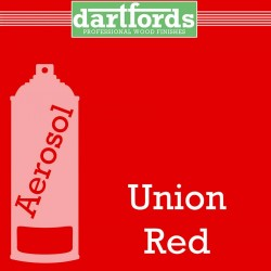Nitrocellulose Lack Spray / Aerosol Union Red 400ml