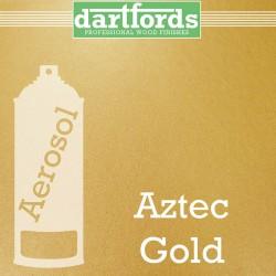 Nitrocellulose Lack Spray / Aerosol Aztec Gold Metallic 400ml