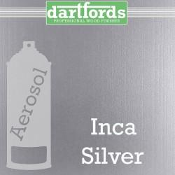 Nitrocellulose Lack Spray / Aerosol Inca Silver Metallic 400ml