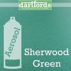 Nitrocellulose Lack Spray / Aerosol Sherwood Green Metallic 400ml