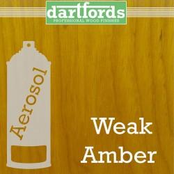 Nitrocellulose Lack Spray / Aerosol Weak Amber 400ml
