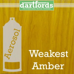 Nitrocellulose Lack Spray / Aerosol Weakest Amber 400ml