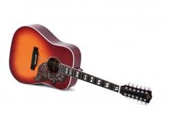 12-saitige Western-Gitarre Sigma DM12-SG 5 mit Pickup