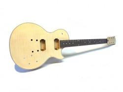 E-Gitarren-Bausatz MLP Flamed Flat Top, Mahagoni