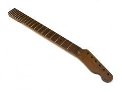 Fender® licensed Allparts flamed, roasted Neck/Hals für Telecaster