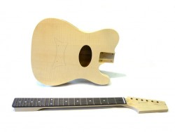 E-Akustik Bausatz/Guitar DIY Kit TML-Coustic