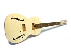 E-Gitarren-Bausatz/Guitar Kit ML Vintage Blues Flamed Maple Top