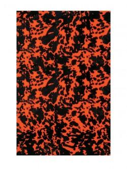 Pickguard Rohmaterial 3-lagig  45 x 29 cm Wildcat Orange