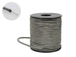 abgeschirmtes Kupfer Kabel zum verdrahten von Schaltungen 0,50m