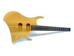 E-Gitarren-Bausatz/Guitar Kit Headless SH 70 , Esche