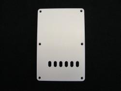 Tremolo-Abdeckung / Back Plate I 1-lagig weiß