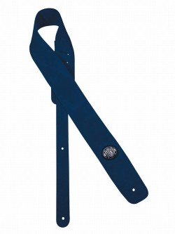 Gitarrengurt/Guitar-Strap Gaucho GST-610-BU Wildleder blau