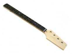 E-Bass Paddle Neck/Hals, Ahorn/Palisander