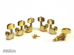 Gitarren-Mechaniken Wilkinson WJ-01 3li/3re LP-Style in gold