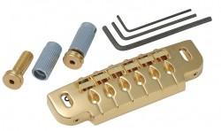 Brücken/Saitenhalterkombination Gotoh 510-UB gold