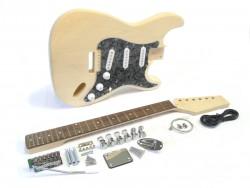 E-Gitarren-Bausatz/Guitar Kit Style I Black Pearl II