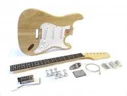E-Gitarren-Bausatz/Guitar Kit Style I Esche-Body