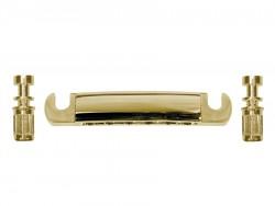 Stop Tailpiece / Saitenhalter gold