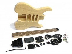 E-Gitarren-Bausatz/Guitar Kit Headless Esche