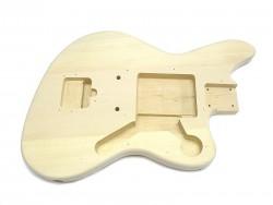 Master Style E-Gitarren-Body / Korpus, unbehandelt, neu