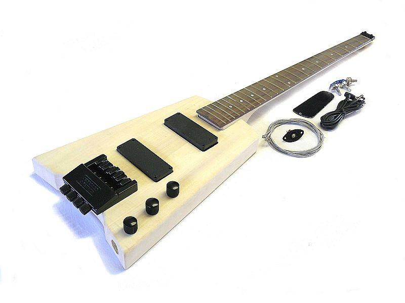 E-Bass Bausatz Guitar Kit Hohn Headless B2 Style