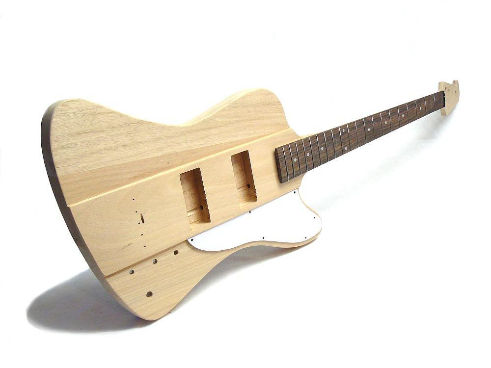 E-Bass Bausatz Guitar Kit MLT Bird Style