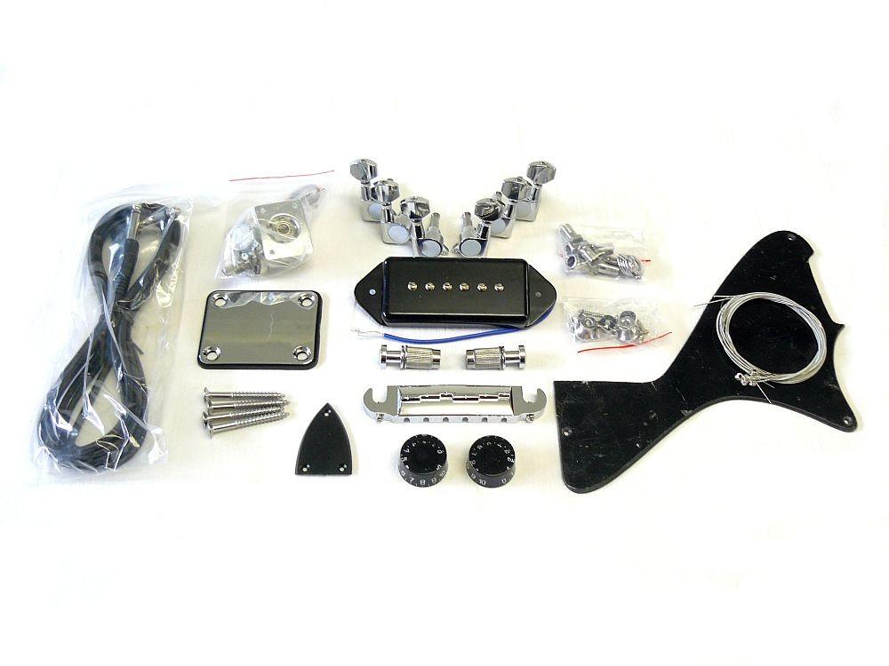 E-Gitarren Bausatz Guitar Kit LP Junior Style