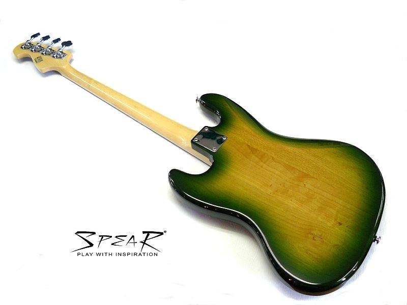 Spear E-Bass FLEXTOOL Jamaika Green
