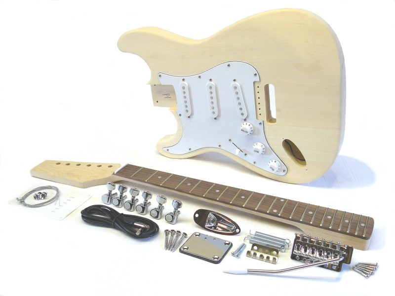 E-Gitarren Bausatz Guitar Style I Standard lefthand